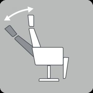 Angle backrest