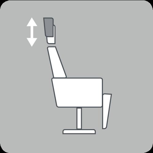 Neck cushion height
