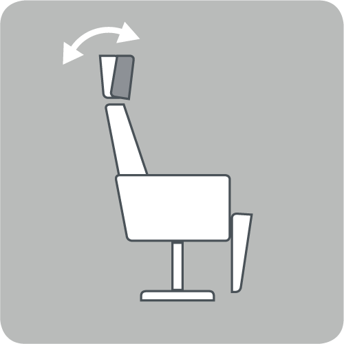 Neck cushion angle