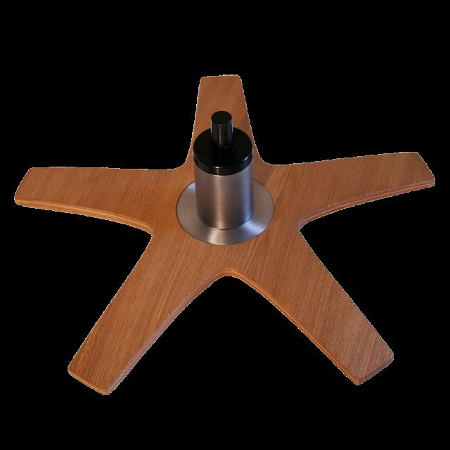 Star - steel centerpiece